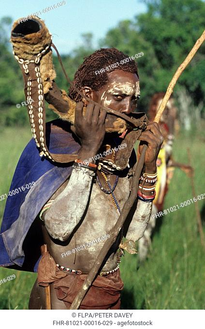 Maasai warrior tropic Stock Photos and Images | age fotostock