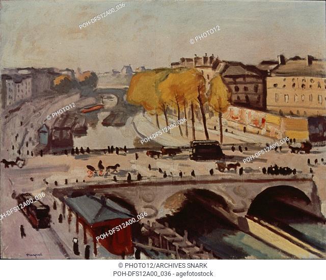Albert Marquet French school Le Pont Saint-Michel et le quai des Grands Augustins 1912 Oil on canvas (66 x 82 cm) Paris, musée national d'Art Moderne