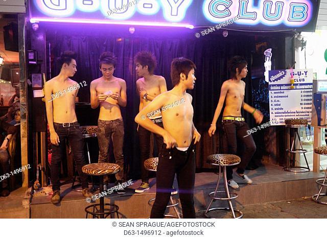 Thailand gay bar boys life