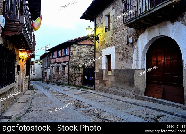 Rustic village. Vinuesa, Soria, Spain