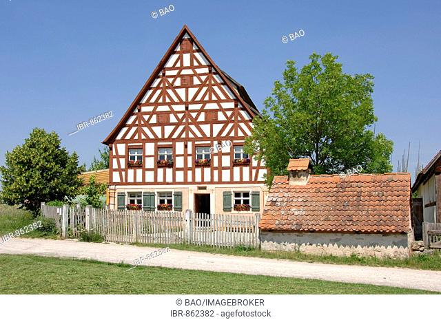 Farmer's museum in Bad Windsheim, Franconia, Bavaria, Germany, Europe
