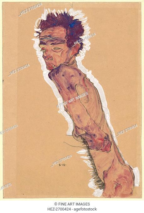 Nude Self-Portrait, 1910