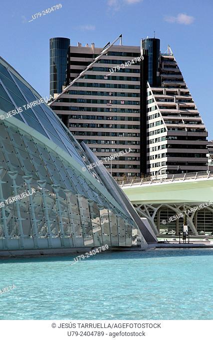 City of Arts and Sciences, Valencia, Comunidad Valenciana, Spain