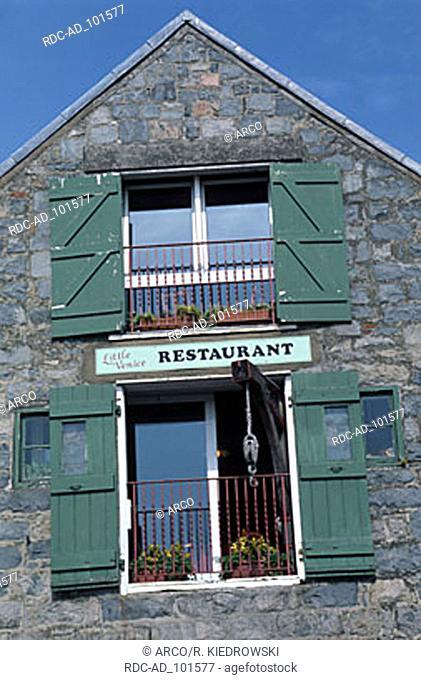 Restaurant St. Peter Port Guernsey Channel Islands Great Britain