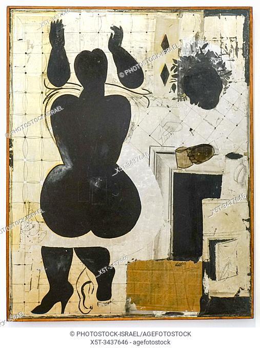 Artist and Model (1980) by Boriss Berzins Latvian Centre for Contemporary Art (LCCA)