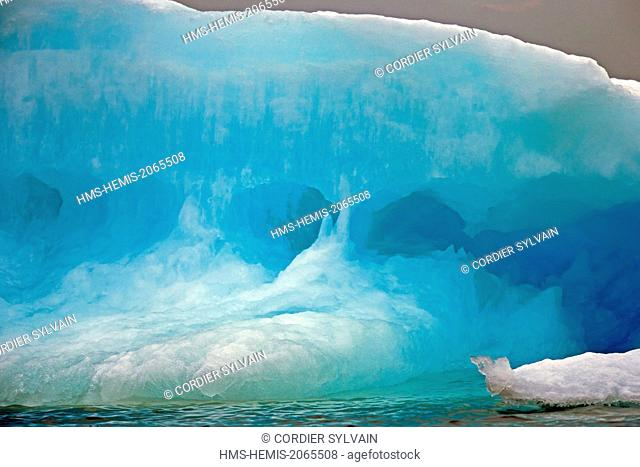 United States, Alaska, Arctic National Wildlife Refuge, Kaktovik, Pack ice, Floe