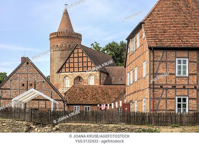 Burg Stargard, Neubrandenburg, Mecklenburg-Vorpommern, Germany, Europe