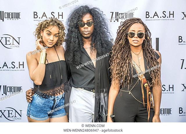 Brandon Anthony's Social House (BASH) hosts #RnBrunch for BET Experience Weekend at XEN Lounge in Studio City Featuring: Eva Marcille