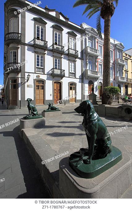 Spain, Canary Islands, Gran Canaria, Las Palmas, Plaza de Santa Ana