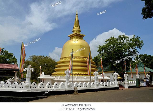Stupa, Dambulla, Sri Lanka