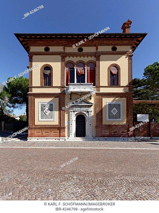 Palazzo Canonica, Renaissance palace, Riva dei Sette Martiri, Castello district, Venice, Veneto, Italy