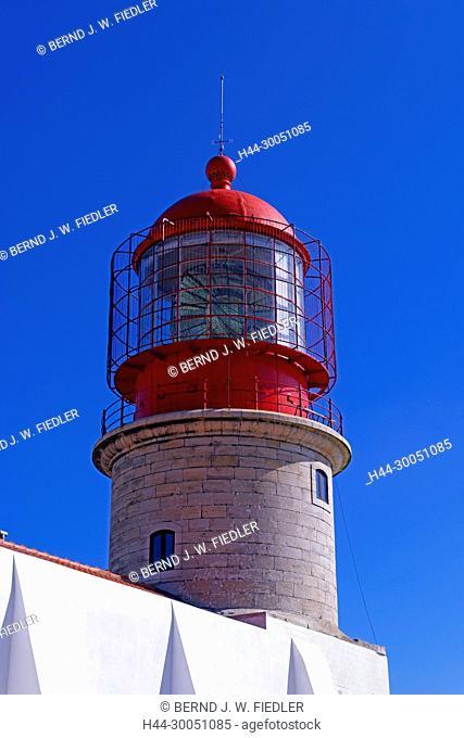 Cabo de Saint Vicente, Farol do Cabo de page ã o Vicente, lighthouse, Sagres Portugal