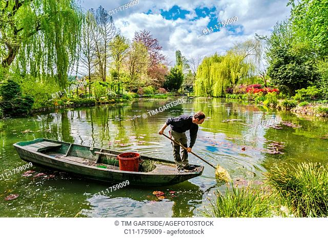 Monet's garden, Giverny, Normandy, France