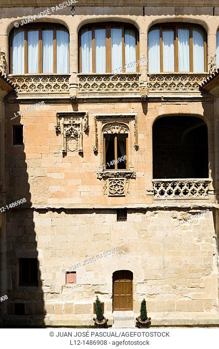 Good love Castle, Castillo del buen Amor, Actually a hotel, Villanueva del Cañedo, Topas, Salamanca province, Castilla y León, Spain