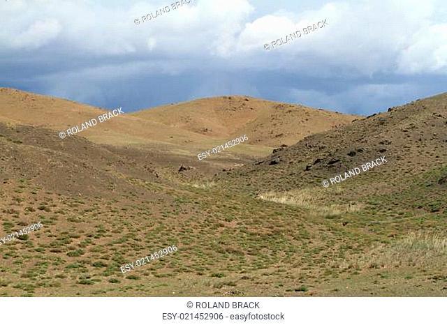Landschaften in der Mongolei