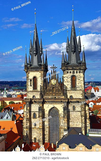 Church of our Lady before Tyn, Old Town Square, Prague, Czech Republic