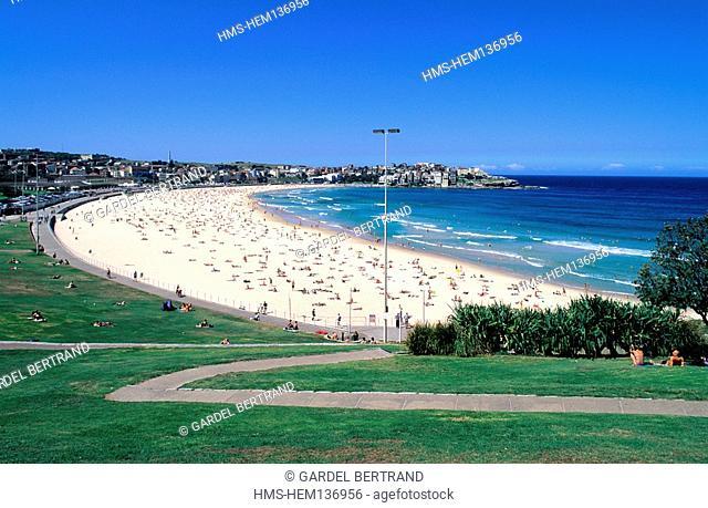 Australia Most Famous Beach Stock