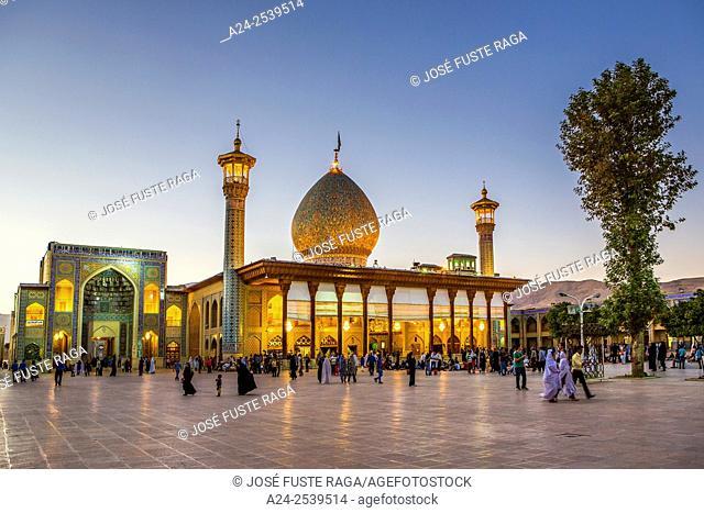 Iran, Shiraz City, Shah -e Cheragh Sanctuary, a
