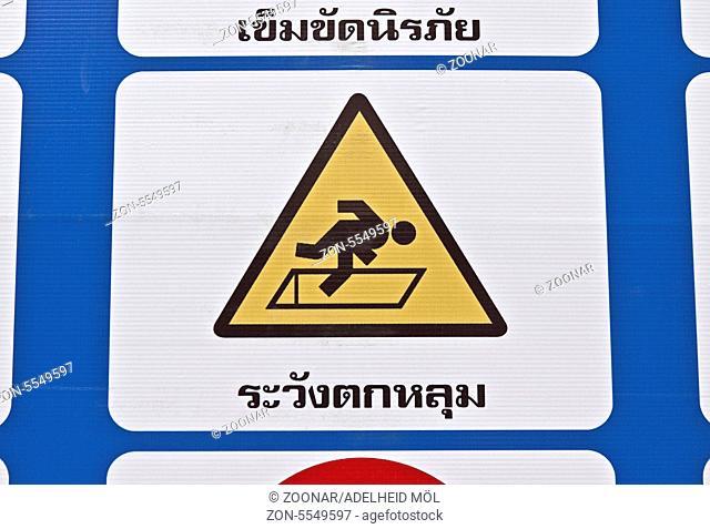 Danger of falling