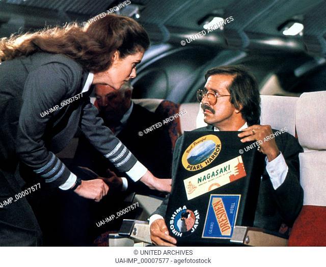 Die unglaubliche Reise in einem verrückten Raumschiff, (AIRPLANE II - THE SEQUEL) USA 1982, Regie: Ken Finkleman, JULIE HAGERTY, SONNY BONO, Stichwort: Koffer