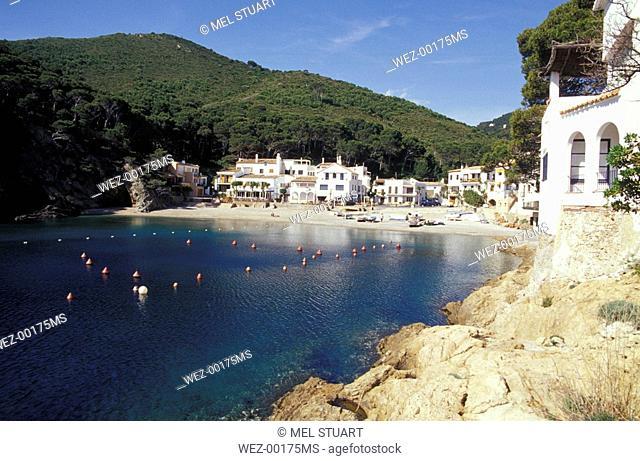 Sa Tuna near Begur, one of the last fishing villages of Costa Brava, Spain