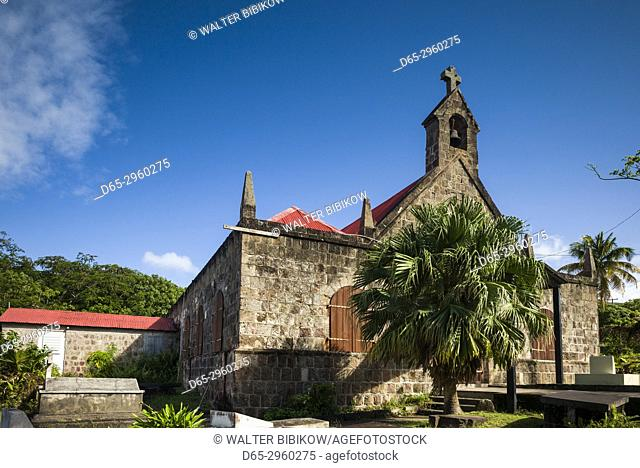 St. Kitts and Nevis, Nevis, Church Ground, St. John's Fig Tree Church