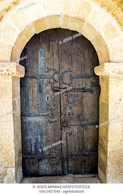 Romanesque church, 12th Century, Perazancas de Ojeda, Palencia, Spain