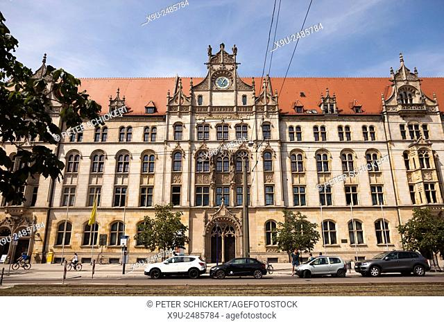 court Building and former post office, Magdeburg, Saxony- Anhalt, Germany