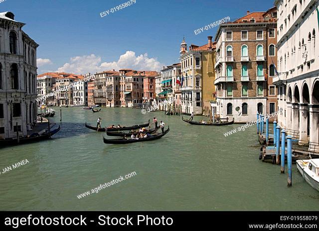 Gondeln in Venedig 3