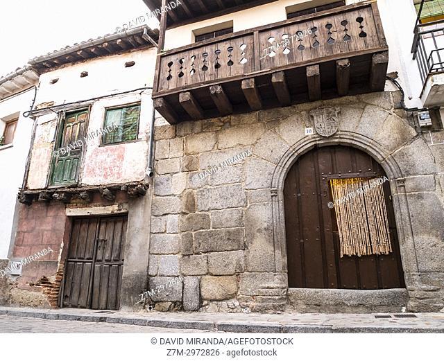 Cuevas del Valle. Barranco de las cinco villas. Valle del Tiétar. Provincia de Ávila, Castile-Leon, Spain