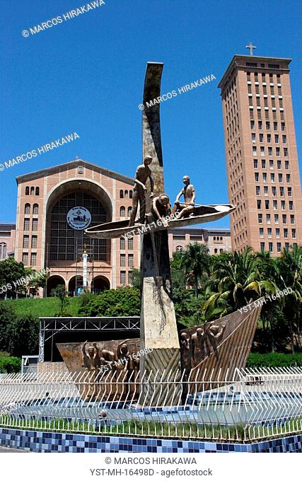 Basílica Nossa Senhora Aparecida, Aparecida do Norte, São Paulo, Brazil