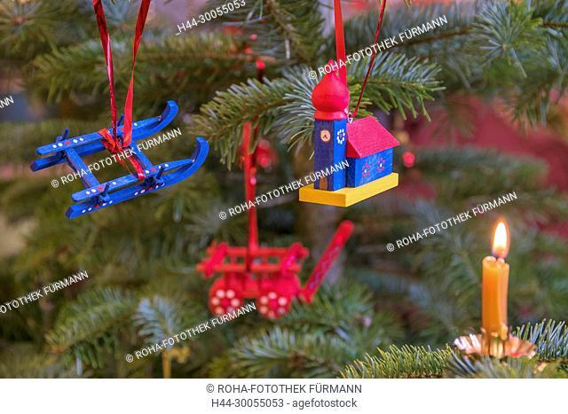 Bayern, Oberbayern, Berchtesgadener Land, Weihnachten, Weihnacht, Schmuck, Christbaumschuck, Tannenbaum, Christbaum, Tannenbaumschmuck, Weihnachtsschmuck