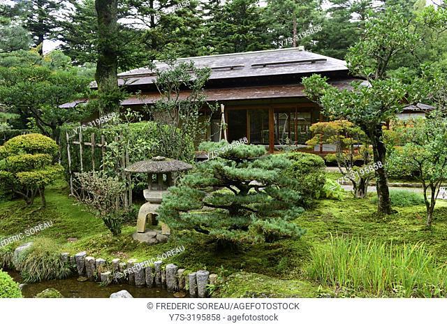 Kenrokuen garden in Kanazawa, Japan, Asia