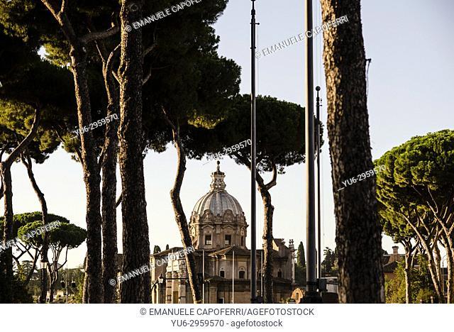 Church of Santissimo nome di Maria, Foro Traiano, Rome, Italy