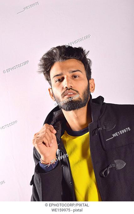 Young male model portrait, Pune, Maharashtra