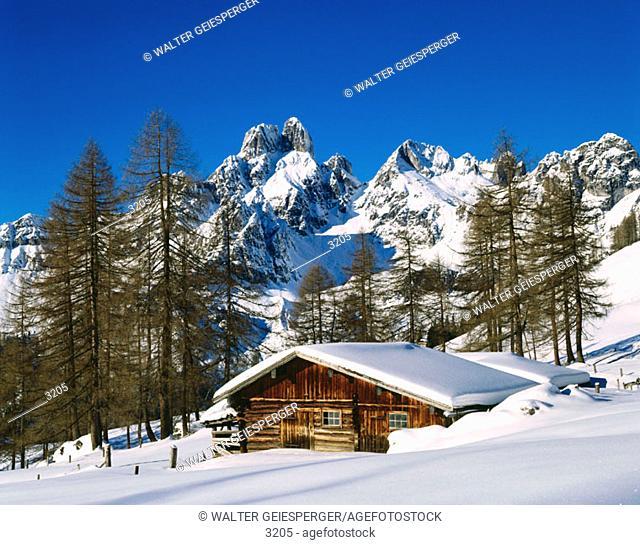 Bischofsmütze Mountain. Salzburg County. Austria