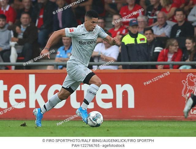 firo: 28.07.2019, football, 1.Bundesliga, season 2019/2020, friendly match, Bayer 04 Leverkusen - Heracles Almelo PAULINHO, Leverkusen