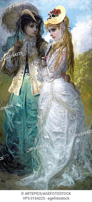 Doré Gustave - Miladys at Hyde-Park