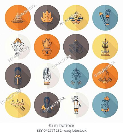 Aum symbol hinduism Stock Photos and Images | age fotostock