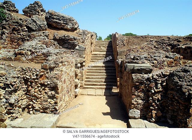 Merida Roman Theatre, Archaeological Ensemble, Merida, Extremadura, Spain, Europe