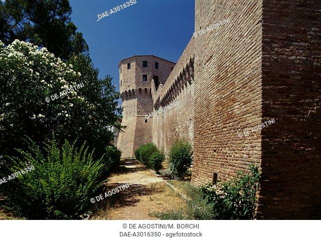 Walls of Jesi, Marche, Italy, 13th-15th century