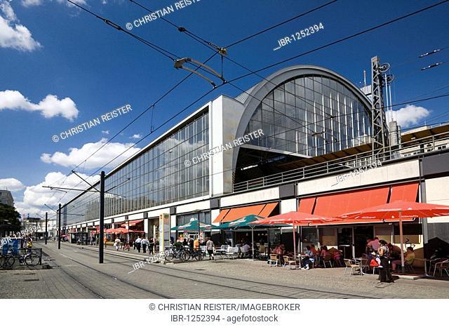 Tram station Alexanderplatz, Mitte, Berlin, Germany, Europe