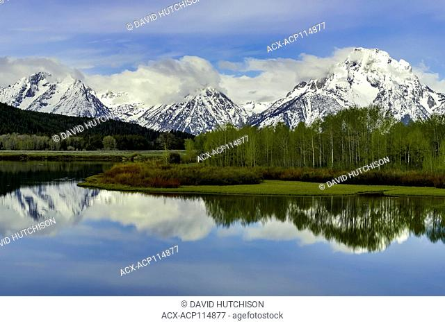 Oxbow Bend, Grand Tetons National Park, Wyoming, USA