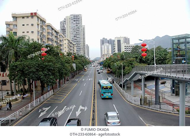 Shashen Road, Shenzhen, China