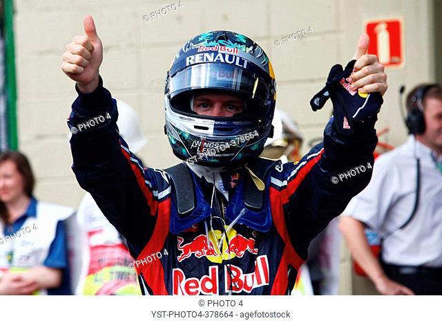 27.11.2011- Race, Sebastian Vettel GER, Red Bull Racing, RB7