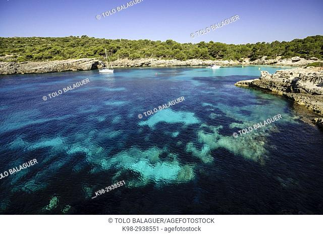 Cala Turqueta, Ciutadella, Menorca, Islas Baleares, españa, europa