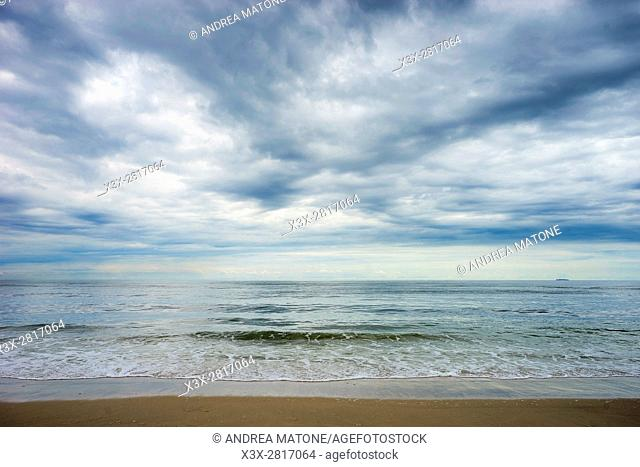 Ocean beach. Jones Beach. Long Island, New York city. New York. USA