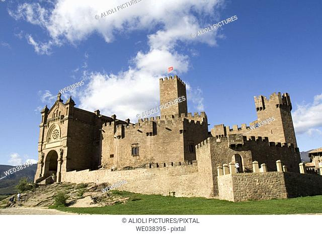 Castillo medieval de Javier, Navarra. Lugar de nacimiento de San Francisco de Javier