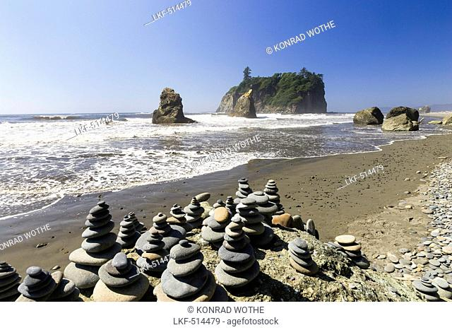 West Coast, Pacific, Olympic Peninsula, Washington, USA