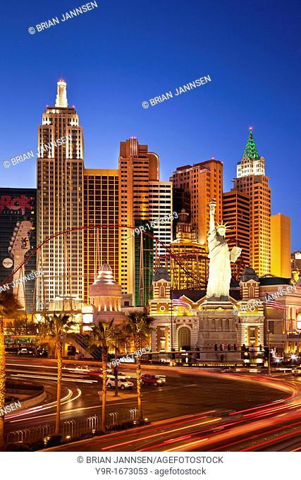 New York Hotel and Casino, Las Vegas Nevada USA